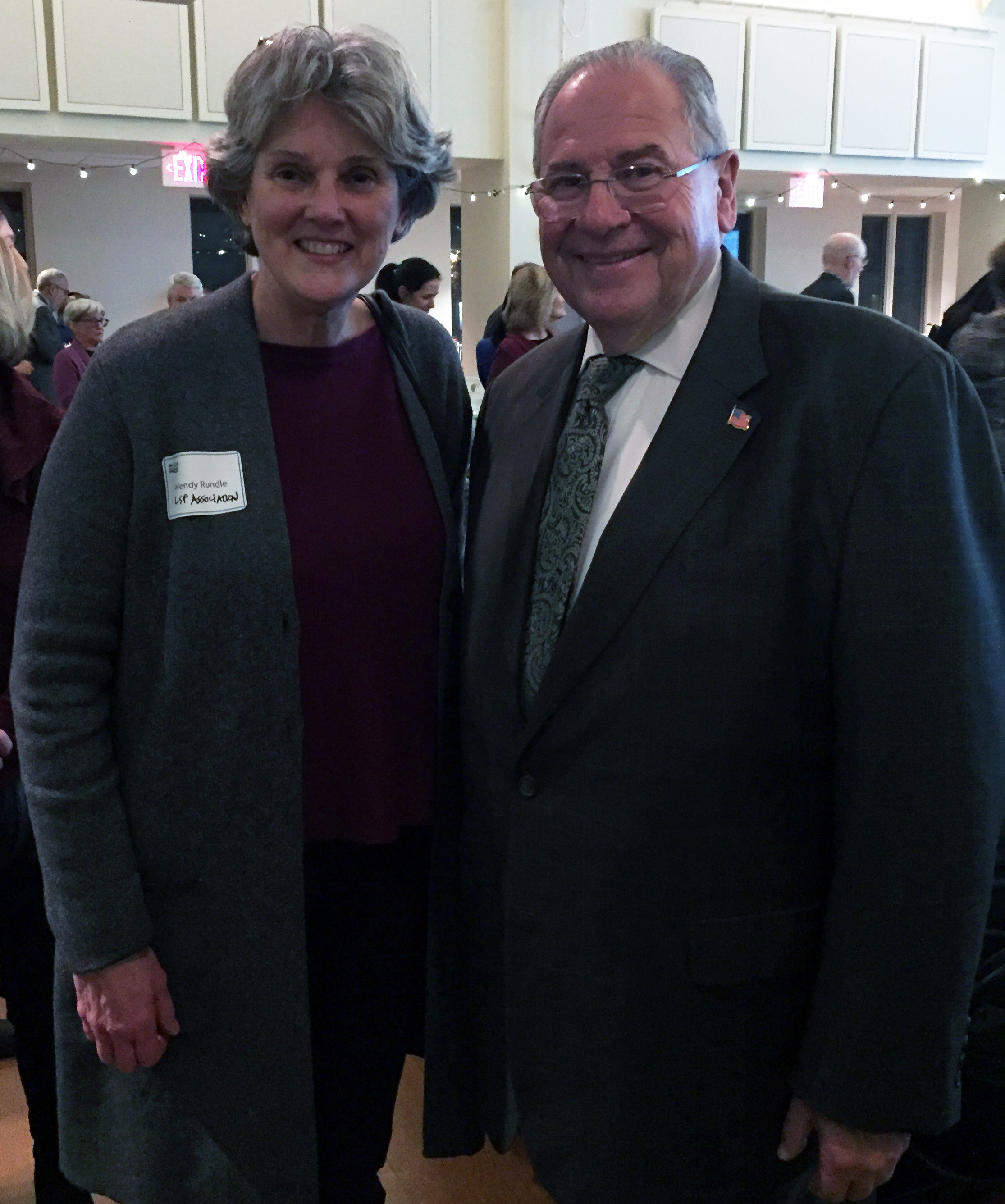Speaker DeLeo, and Wendy Rundle, right after she mentioned the LSPA's S.594 to require insurance for remediation of residential home heating oil releases.