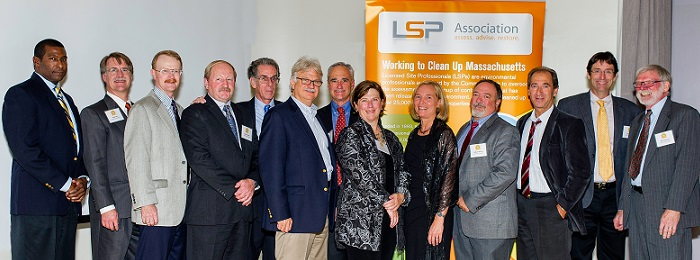 Past Presidents, LSPA's 20th Anniversary Dinner, October 2013.  (Photo courtesy of Tom Barrasso)
